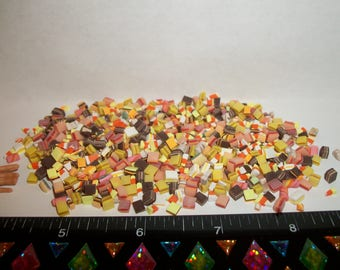 25 Dollhouse Miniature Handcrafted Autumn Fall Thanksgiving Hard Candy Sweet Dessert Food