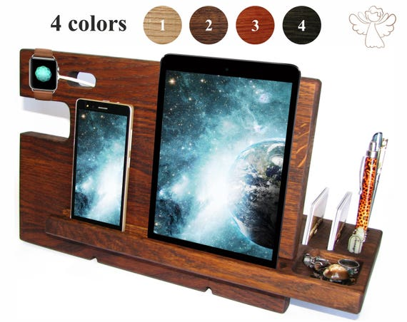 ipad st nder holz docking station holz iphone st nder holz. Black Bedroom Furniture Sets. Home Design Ideas