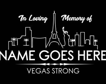 Vegas Strong Decal, Vegas Strong Sticker, Vegas Sticker, Vegas Decal, Vinyl Sticker, Car Decal, Car Stickers, Bumper Stickers, Vehicle Decal