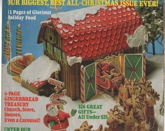 Good Housekeeping Magazine December 1982  Best All Christmas Issue Ever