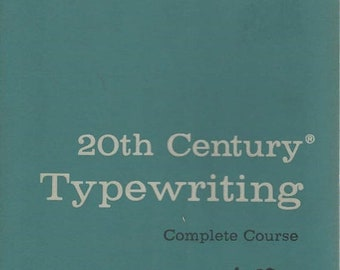 20th Century Typewriting Complete Course T50 Seventh Edition 1957
