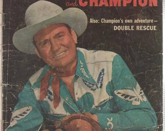 Gene Autry and Champion Comic Book Vol One No 109 May June 1956