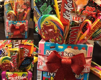 Large Candy Bouquet, Birthday Gifts, Gift Basket , Edible Gift, Custom Gift