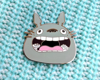 Totoro Forest Yell Hard Enamel Pin