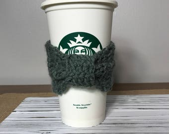 Coffee Cozy, Cup Cozy, Coffee Sleeve, Crochet Coffee Cozy, Reusable Coffee Cozy,  Christmas Gifts, Custom Coffee Cozy, Drink Cozy