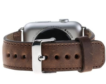 Apple Watch band 42mm iwatch band applewatch band leather apple watch strap Apple watch leather band 3rd Anniversary Gift for Men