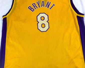 Vintage Champion NBA Jersey Los Angeles Lakers Kobe Bryant