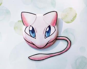 Winged Buttons - Mew