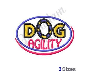 Dog Agility - Machine Embroidery Design