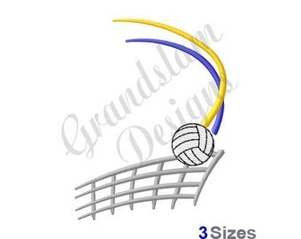 Volleyball Net - Machine Embroidery Design