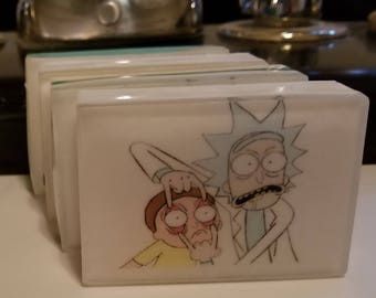 Rick and Morty Soap