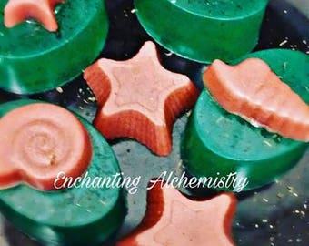 Seaweed sea salt scrub soap
