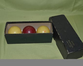 Super Aramith billiard balls