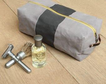 Dopp Kit - Toiletry Bag - Waxed Canvas