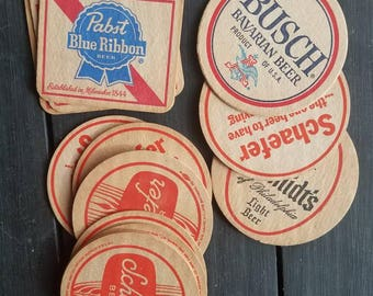 Lot of 14 Vintage Coasters