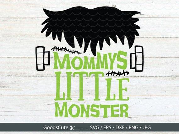 Mommy S Little Monster Svg Halloween Svg Boys Halloween