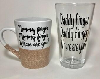 Mommy finger mug
