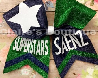 Saenz Cheer bow (Two Toned)