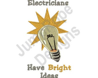 Bright Ideas - Machine Embroidery Design