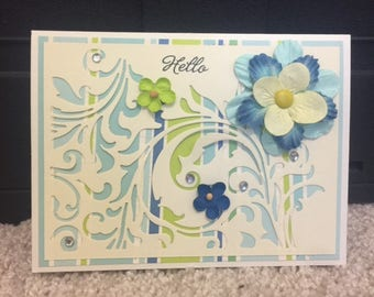Hello/friend card