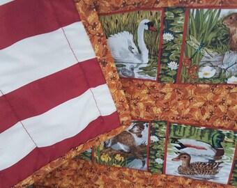 Quilt - Handmade by my mum - Varrious Animals