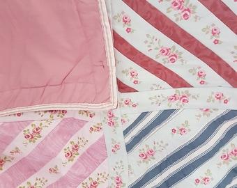 Quilt - Handmade by my Mum - Rose Motif