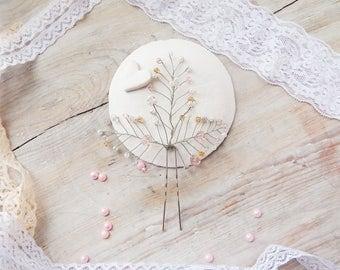 Accessories for a bridal hair, Wedding accessory, Wedding hairpin, Hairpin, For a bride's hair.