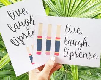 Lipsense, Lipsense Party, Senegence, lipsense business, lipsense card, lipsense marketing, lipsense printable, Lipsense Sign, Lipstick