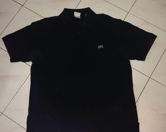 vintage lacoste polo tshirt (france design)