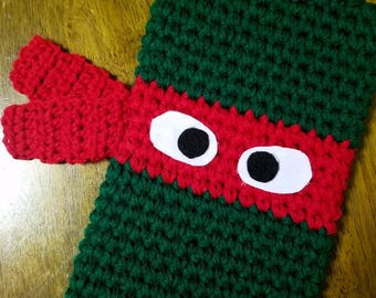 CLEARANCE Ninja turtle Christmas stocking *ready to ship*