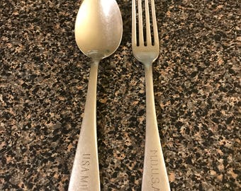 USA-MD Fork & Spoon