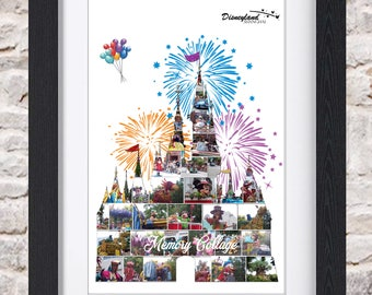 Shanghai Enchanted Storybook Castle Wall Art Digital Fine Art Photo Collage