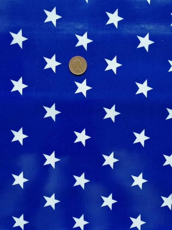 Blue Stars Laminated Cotton Fabric, Oilcloth Tablecloth, Waterproof  Tablecloth, Modern Tablecloth Fabric, Vinyl Material, Wipe Clean Fabric  From ...