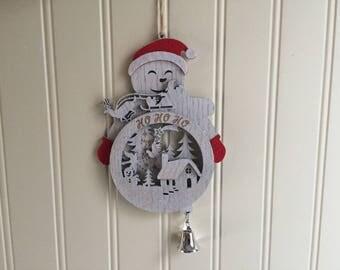 Kurt Adler Snow Man Christmas Ornament