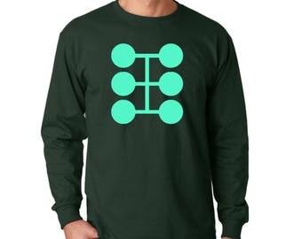 Multiple man- Jamie Madrox, comic book T-shirt long sleeve,- X-men-marvel style