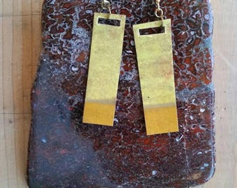 Recycled Paper Earrings : Yellowism