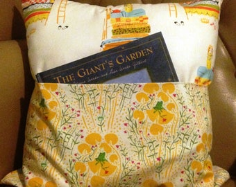 Vintage Princess and the Pea Book Pillow