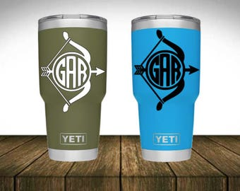 Monogram Decal - Bow and Arrow