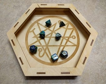 "The Summoning - Laser Cut 10"" Dice Tray"