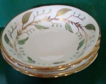 Fine Bone China Laurel Pattern Dessert Bowls (4)