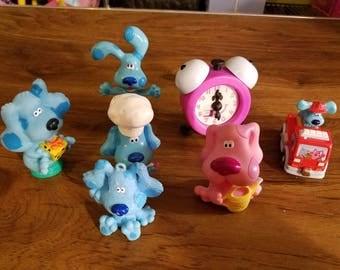 1998-2007 Miscellaneous Blue's Clues Items Plastic