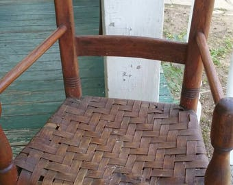 Early America Antique Kentucky,Tennessee/Virginia child's chair