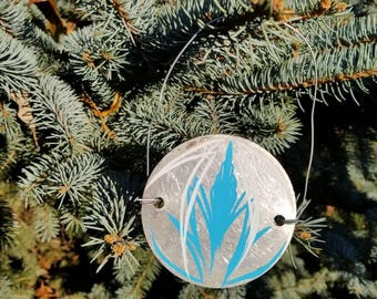 Pinstriped Christmas Ornament