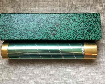 Vintage Brass Kaleidoscope Collector