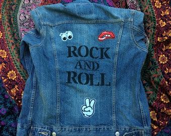 One of a kind Levis denim jacket