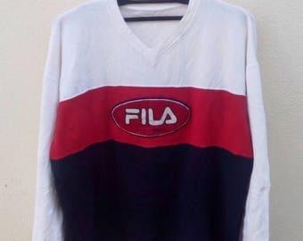 Rare!!! Fila biella italia sweatshirt
