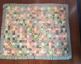 "Hand Made Baby Blanket 31"" x 36"""