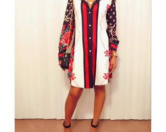 Night Out On The Town Oversized Shirt-Dress. Button down shirt dress. Shirt-Dress. Collar Shirt Dress. Collar Dress