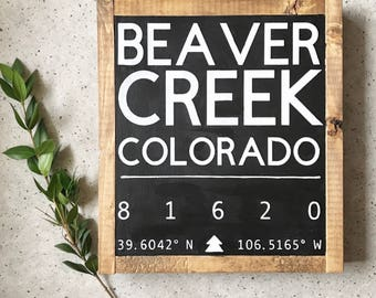 CUSTOM, Location Sign, Wood Sign, Custom Sign