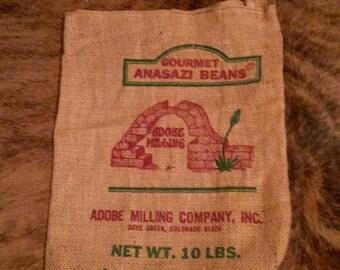 Burlap Coffee Bean Bag